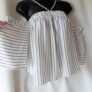 *2/$14* Sheike Striped Top Size XS to Small